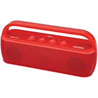 Jensen SMPS-627-R Portable Bluetooth Wireless Stereo Rechargeable Speaker