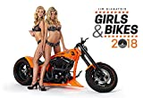 Hot Girl Calendar - 2018 Calendar - Sexy Woman Calendar - Girls and Bikes Poster Calendar by Presco Group