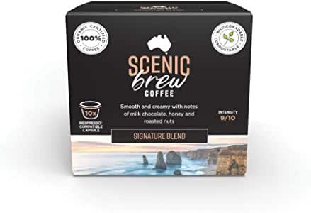 Scenic Brew, 3 packs of 10 pods (30 total), Signature Blend