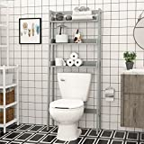 Best Over Toilet Cabinets - UTEX 3-Shelf Bathroom Organizer over the Toilet, Bathroom Review