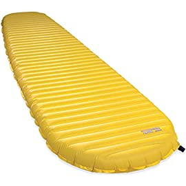 Therm-a-Rest NeoAir Xlite Women's Ultralight Backpacking Air Mattress 1 Ultralight (12 ounces) women's-specific inflatable air mattress for backpacking and mountaineering offers maximum warmth for the weight Reflective ThermaCapture technology traps radiant heat while Triangular Core Matrix baffled construction provides stability and minimizes heat loss Tapered design reduces weight without compromising warmth; textured, no-slip fabric ensures that sleeping bags stay put during the night