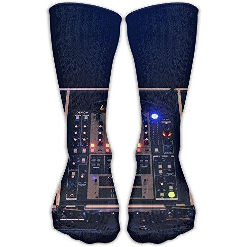 DJ Cool Nightclub Turntables Women & Men Socks