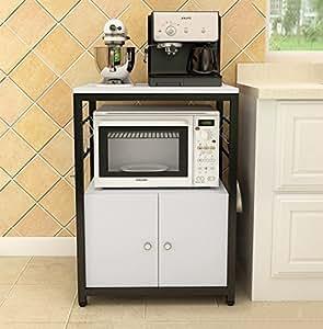 Yxx max Organizador Cocina Estante de la Cocina Parrillas del Horno microondas Estante múltiple Almacenamiento Estante Almacenamiento Rack Cocina Horno Gabinete (Color : B)
