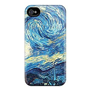 Iphone 4/4s JXw4193WNvN Custom Colorful Strange Magic Skin Scratch Resistant Cell-phone Hard Cover -CharlesPoirier