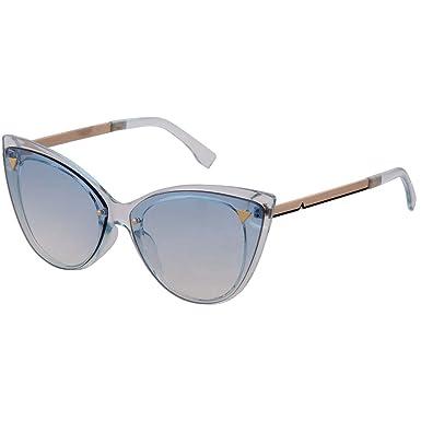 OGOBVCK Gafas de sol de las mujeres de ojo de gato de gran ...
