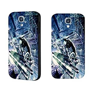 Sparkle Space Abstract Architecture Art Graphics Geometric Artistic Hard Plastic case cover for Samsung Galaxy S4 uJBaOrwKXLc I9500 Skin case cover for Guys