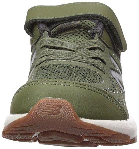 New Balance Boys' 519v1 Hook and Loop Running Shoe Dark Covert Green/Phantom 2 M US Infant by New Balance (Image #4)