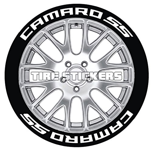 Camaro Tire Stickers - Permanent 1
