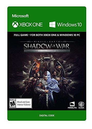 Middle-Earth: Shadow of War: Silver Edition - Xbox One [Digital Code] by Warner Bros.