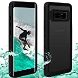 Waterproof Note 8 Case | Touchable Heavy Duty Protection Cellphone Cover | Underwater Full Body Shock-Proof Dirt-Proof...