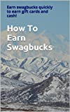 When I first joined Swagbucks.com, I usually tried to get a search per day day, and if I was feeling motivated, I would do the daily poll. I didn't know there was much more you could do, and so I would be content with earning maybe 10 SB's a day. Nee...