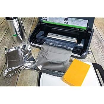 Mylar Vacuum Seal 8x16 or 11x16 Rolls 2, 11x16 SteelPak Textured//Embossed Aluminum Foil Vacuum//Heat Seal Rolls to Create Custom-Sized Vacuum Sealer Bags