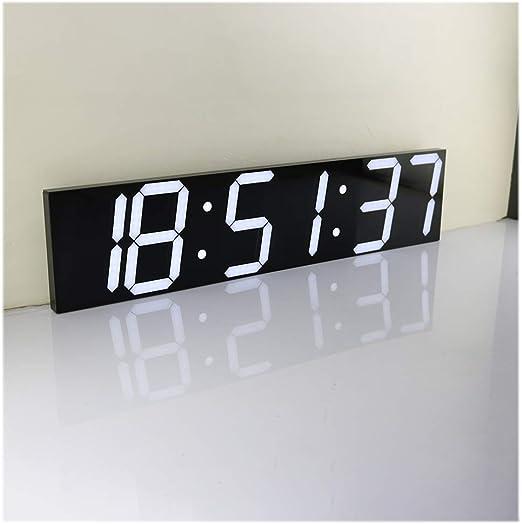 SOULOS Mudo Digital Despertador LED, Trabajo Reloj de Pared ...