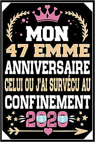 Livre pour les félicitations et photos des invités Joyeux Anniversaire ~ 47 ans 47 ans décoration /& cadeau danniversaire pour homme ou femme Livre dOr pour le 47ème anniversaire