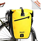 Rhinowalk Bike Bag Waterproof Bike Pannier Bag,(for Bicycle Cargo Rack Saddle Bag Shoulder Bag Laptop Pannier Rack Bicycle Bag Professional Cycling Accessories)