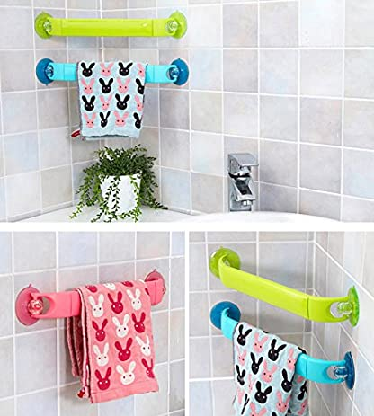 D.scoop Power Lock Suction Towel Bar Retractable Towel Bar With Rotatable  Suction Cup