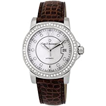 Carl F. Bucherer Patravi AutoDate Automatic Steel & Diamond Strap Watch 00.10617.08.77.11 Retail Price $9,500.00