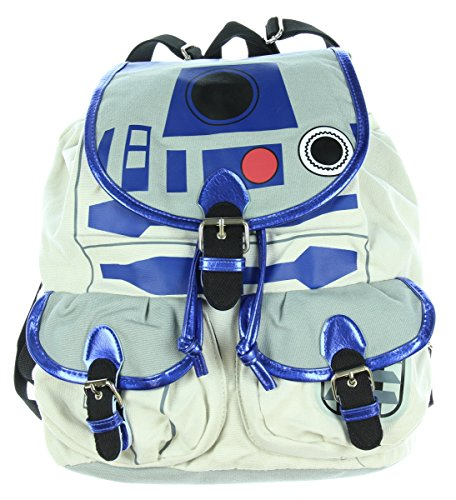 - Star Wars R2D2 Knapsack Backpack 14 x 17in