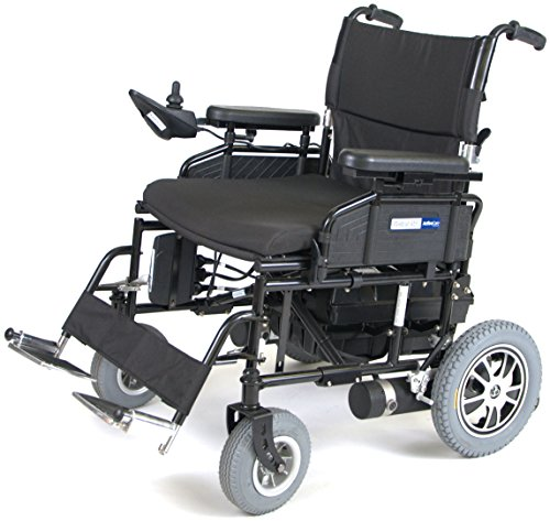 Active Care Drive Medical Wildcat 450 Heavy Duty Folding Power Wheelchair, 24 Seat ()