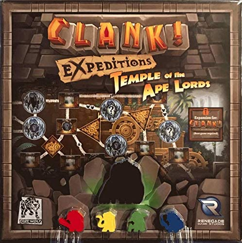 Imagen deRenegade Game Studios Clank! Expeditions: Temple of The Ape Lords - English