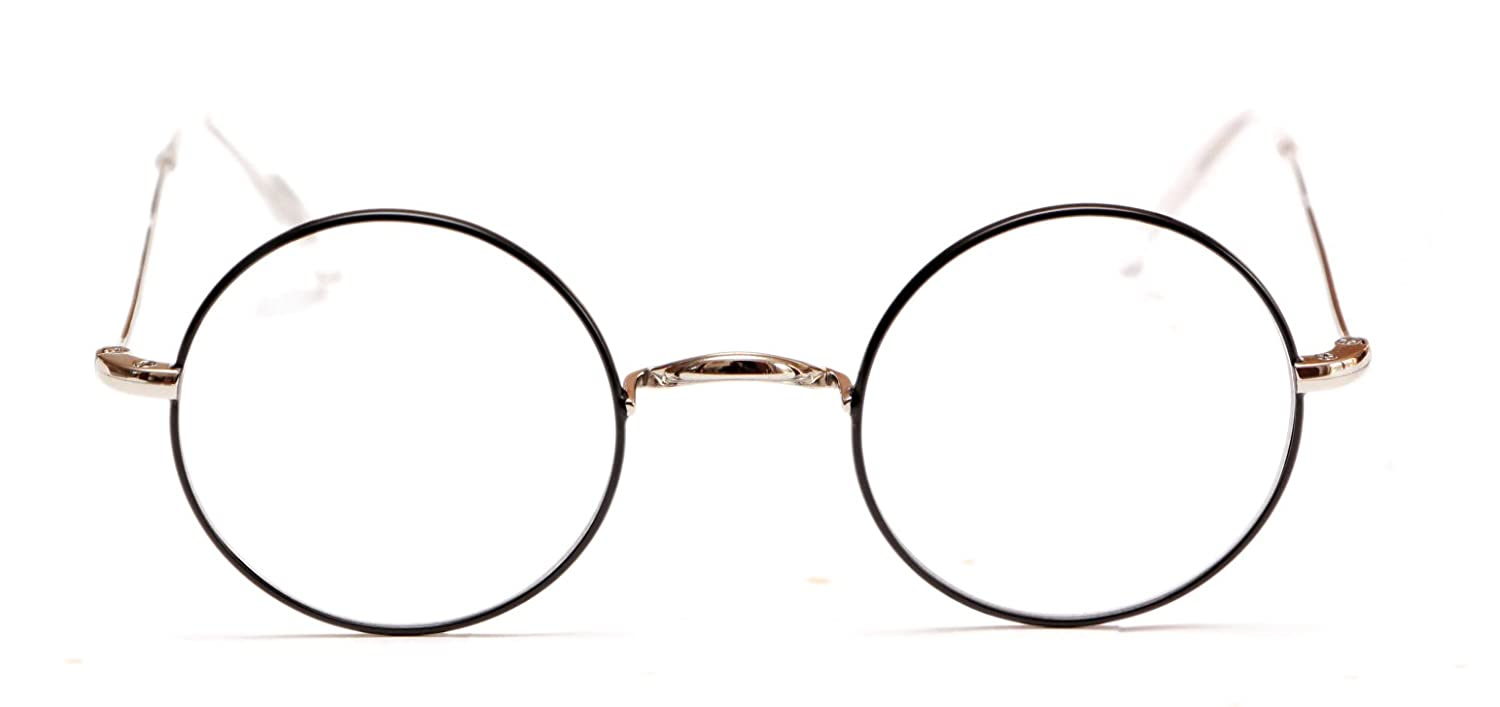 f5a32f7c70 Amazon.com  HARRY POTTER Style Round Frame Eyeglasses by Magnoli Clothiers   Clothing