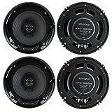 Best Kenwood Car Door Speakers - 4 New Kenwood KFC-1665S 6.5 inch 600 Watt Review