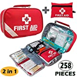 Best First Aid kits - 2-in-1 First Aid Kit 215 Piece + Bonus Review