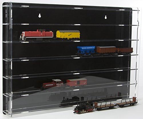 H0 Vitrine de protection avec panneau arri/ère noir SORA Mod/èle chemin de fer /échelle 00