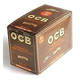 10 x OCB Unbleached VIRGIN Cigarette filter TIPS x 150 filters = 1 box