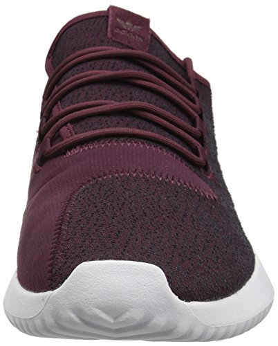Adidas Originals Men's Tubular Shadow Sneaker, Maroon/Vapour Grey/White, 8.5 M US