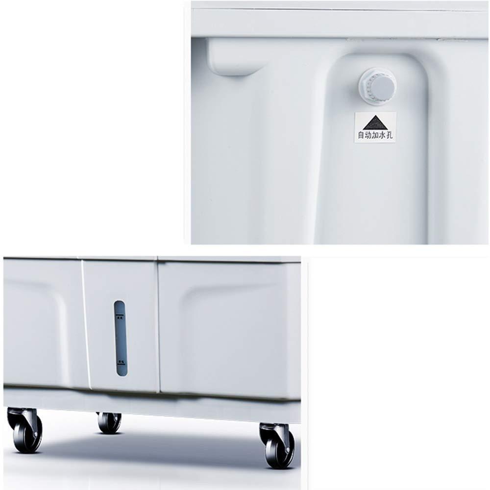 80L 360W XUDONG Frigorifero Mobile Industriale e Commerciale di refrigerazione dellAria di Piccole Dimensioni