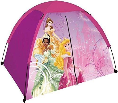 [Disney Princess 2-Pole Dome Camping/Play Tent With Floor & Zippered Door 4'x3'] (Disney Jasmine Wand)