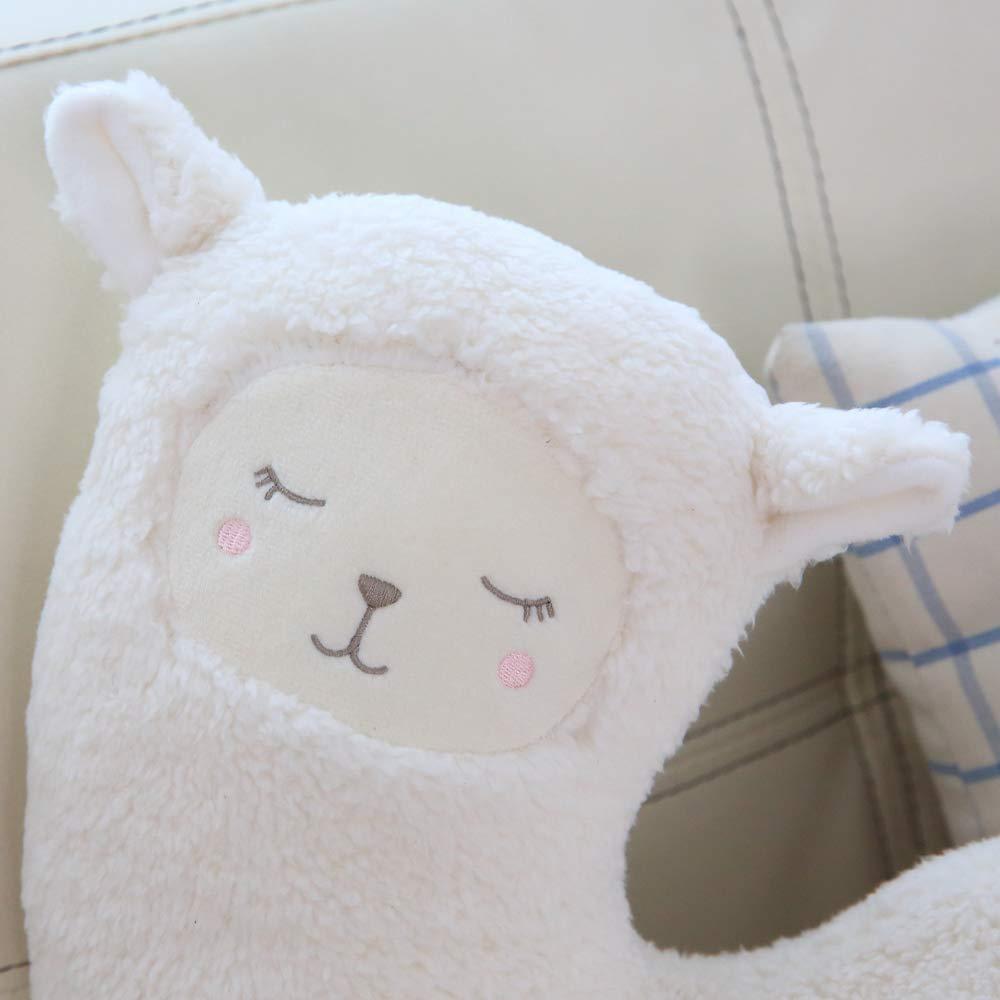 Amazon.com: Nooer - Almohada para el cuello de Alpaca de ...