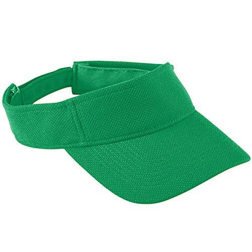 - Augusta Sportswear Kids' Adjustable Wicking MESH Visor OS Kelly