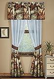 Thunder Run Horses Curtain Pair, 84″W x 84″L