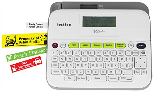 Brother Printer RPTD400 Versatile Compact Label Maker (Renewed)