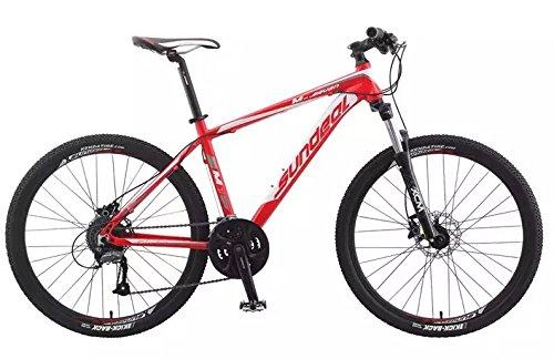 "17"" Sundeal M7 26"" Hardtail MTB Bike Hydro Disc Shimano Altus 3x9 MSRP $599 NEW"
