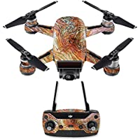 Skin for DJI Spark Mini Drone Combo - Woodlands| MightySkins Protective, Durable, and Unique Vinyl Decal wrap cover | Easy To Apply, Remove, and Change Styles | Made in the USA
