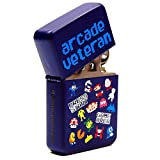 Pixel Characters Windproof Lighter. Cool Retro Gaming Geek Chic Funky Gift by Bomblighter