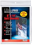 "Ultra Pro 8"" x 10"" Soft Sleeves (50)"