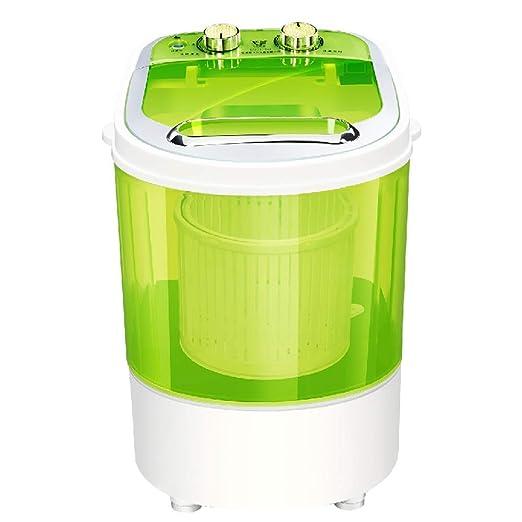 WZB Lavadora Mini portátil para lavandería compacta, pequeña ...