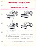 1962 Ford Massey Case International Tractor Brochure