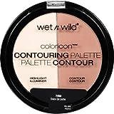 Wnw C749 Meglo Cnt Pwd Du Size .44a Wet N Wild Megaglo Contouring Palette Powder C 749 Dulce De Leche .44oz