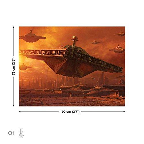Star Wars Angriff Klonkrieger Leinwand Bilder (PPD737O1FW)