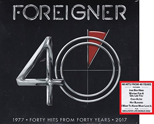 Foreigner - Forty Hits from Forty Years 1977 - 2017 with Exclusive Live Bonus Disc