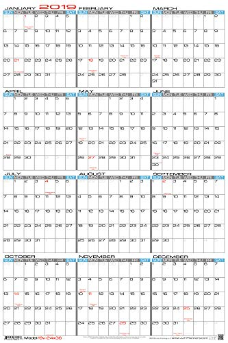 Planner Erasable (JJH Planners - Laminated - 24