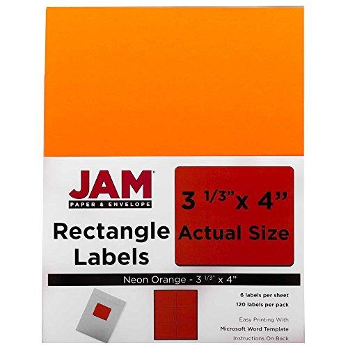 JAM Paper Shipping Address Labels - Large - 3 1/3