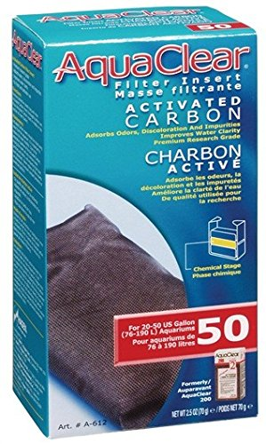 AquaClear 50 Activated Carbon, 2.4 Ounce
