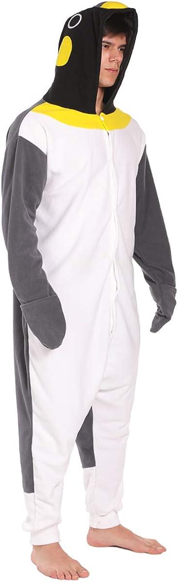 dressfan Unisex Animal Pajamas Adult Penguin Cosplay Costume
