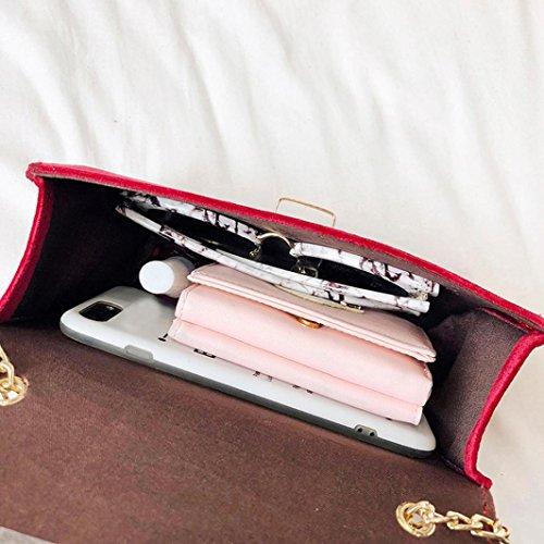 VENMO Tote Green body Chain Cross Strap EDC Ladies Handbag Essential Velvet Stachel Clutch Messenger Women Small Shoulder Bag For Uprxpt6q